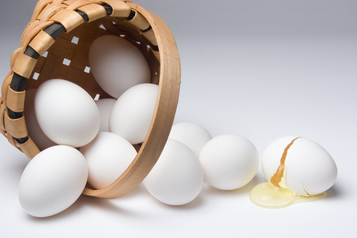 Don't put all your eggs or stocks in one basket